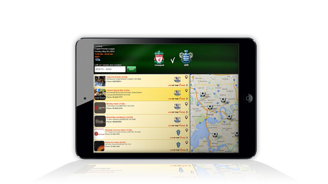 The Game On Live Sports - PubTIC