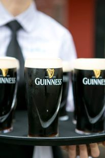 tray of Guinness