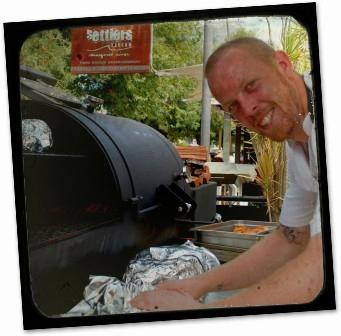 Finalist - Settler's Tavern chef, Rick Houston
