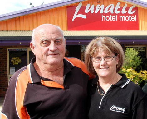 Lunatic Hotel_Bob and Desley Kane 2