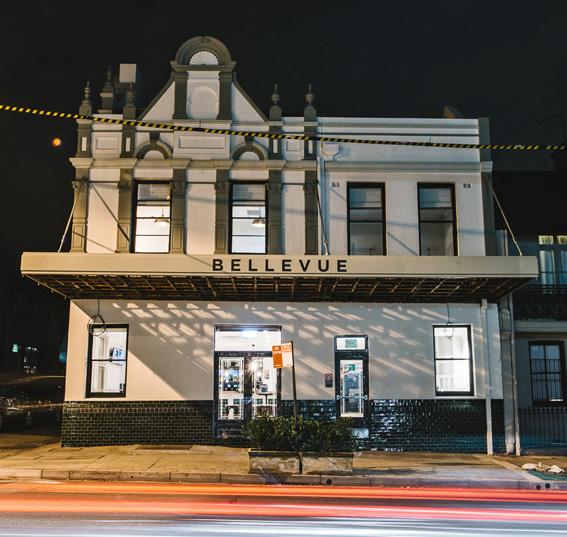Bellevue Hotel, Paddington